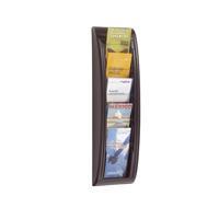 Fast Paper Quick Fit System Wall Display 5 x 1/3 A4 Black F406201
