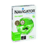 Navigator Eco-Logical Paper 75gm A4 (Pack of 2500) NAVA475