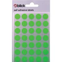 Blick Flourescent Labels in Bags Round 13mm Dia 140 Per Bag Green (Pack of 2800) RS004158