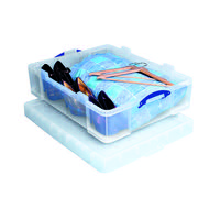 REALLY USEFUL 70L STORAGE BOX CLEAR