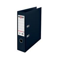 Rexel Choices 75mm Lever Arch File Polypropylene A4 Black 2115501
