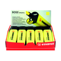 STABILO BOSS HIGHLIGHTER YELLOW - MULTI BUY DISCOUNT AVAILABLE!!