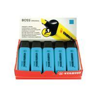 Stabilo Boss Original Highlighter Blue (Pack of 10) 70/31/10