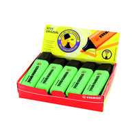 Stabilo Boss Original Highlighter Green (Pack of 10) 70/33/10