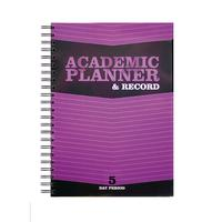 Silvine 5 Period Purple A4 Teacher Academic Planner and Record EX201