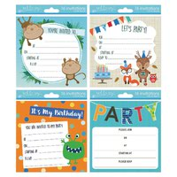 TALLON BOY INVITATION CARDS PK192
