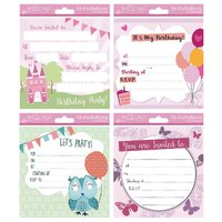TALLON GIRL INVITATION CARDS PK192
