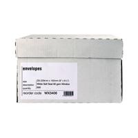 WHITE SLF/SEAL C5 WINDOW ENVELOPE PK500