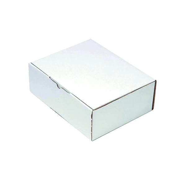 Flexocare Oyster White Mailing Box 260 x 175 x 100mm (Pack of 25) PPAK-KING09-D