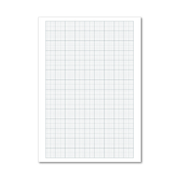 Graph Paper Loose A4 75gsm 500 PP 100103410