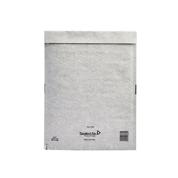 Mail Lite Plus Bubble Lined Postal Bag Oyster 270x360mm Pk 50 MLPH/5