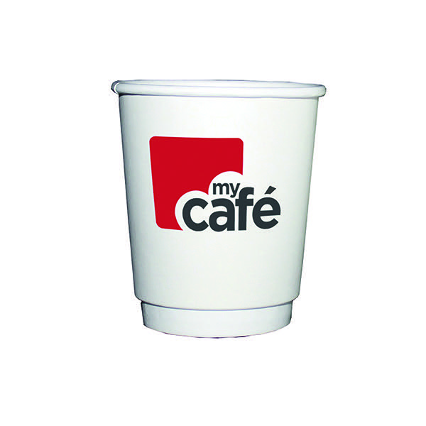 MyCafe 8oz Double Wall Hot Cups Pk500