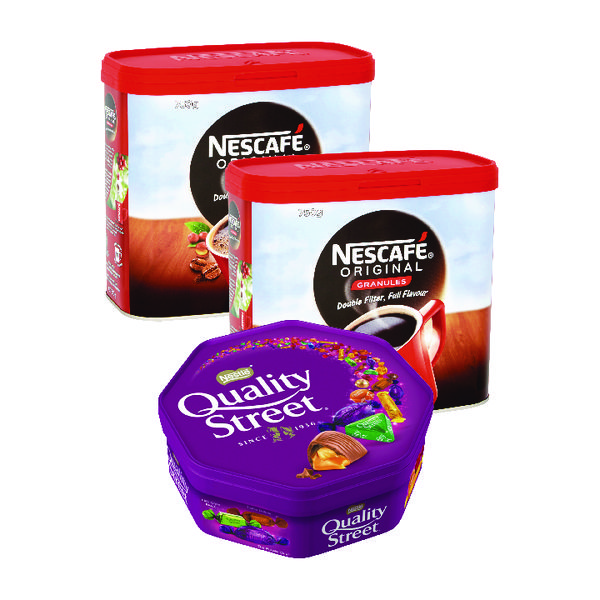 Nescafe Original Instant Coffee 750g Buy 2 Get FOC Quality Street 720g NL819845