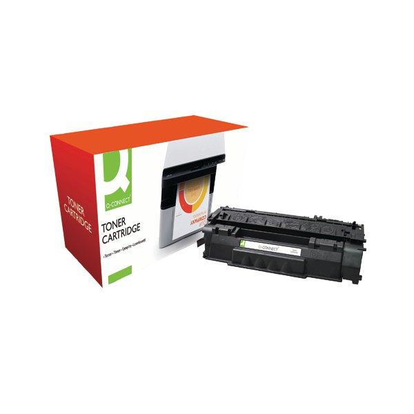 Q-Connect First To Market Solution HP 49A Black Laserjet Toner Cartridge Q5949A
