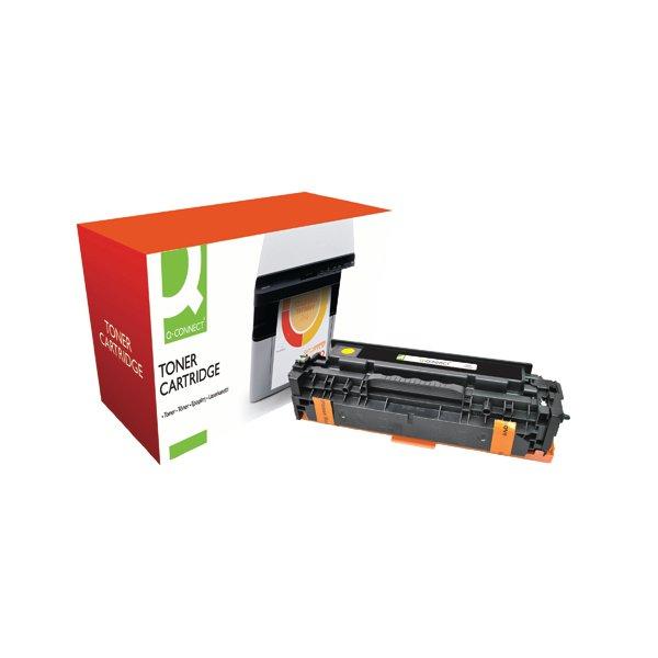 Q-Connect Compatible Solution HP 305A Yellow Laserjet Toner Cartridge CE412A