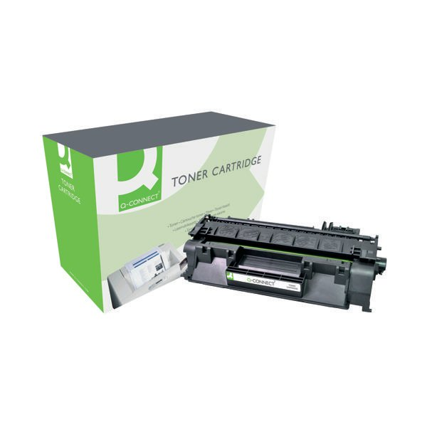 Q-Connect Compatible Solution HP 80A Black Laserjet Toner Cartridge CF280A