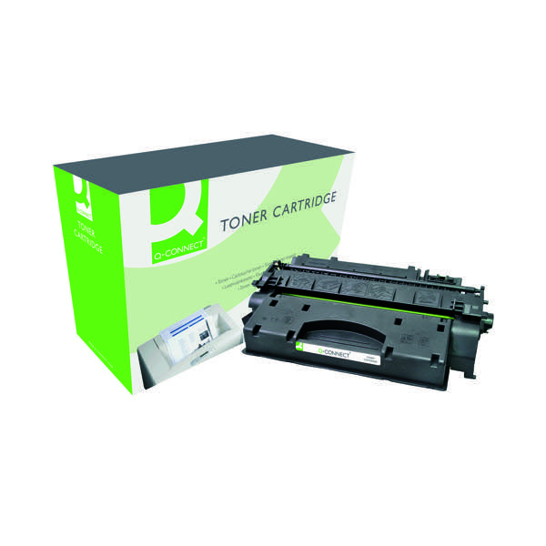 Q-Connect Compatible Solution HP 80X Black Laserjet Toner Cartridge High Capacity CF280X