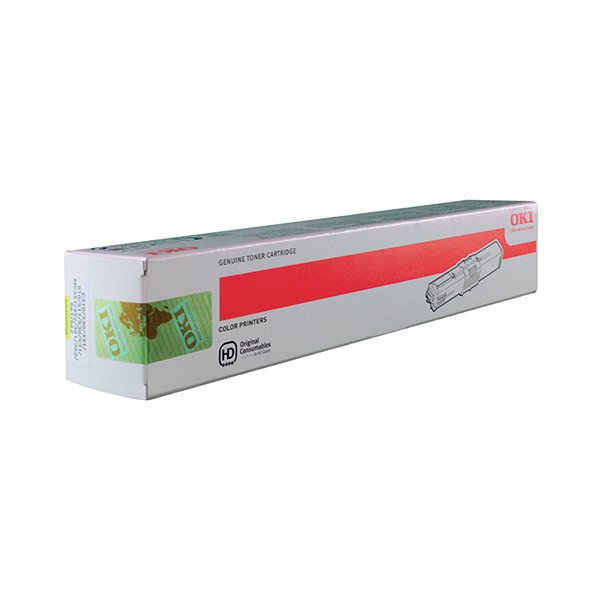 Oki Yellow Toner Cartridge (2,000 Page Capacity) 44469704