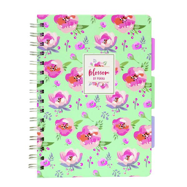 Pukka Pad Blossom Project Book A5 (Pack of 3) 8653-BLO
