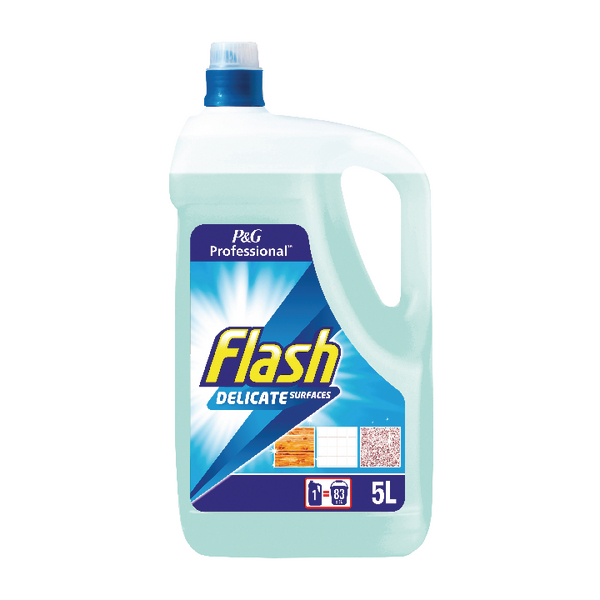 Flash Multi Surface and Floor Cleaner Neutral 5 Litre 8001090475671
