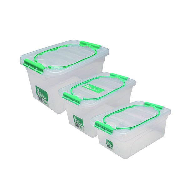 StoreStack Carry Box Set of Multiple Sizes (Pack of 3) RB01033