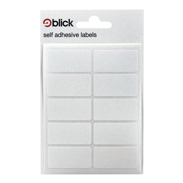 Blick White 19x38mm Labels (Pack of 1400) RS003151