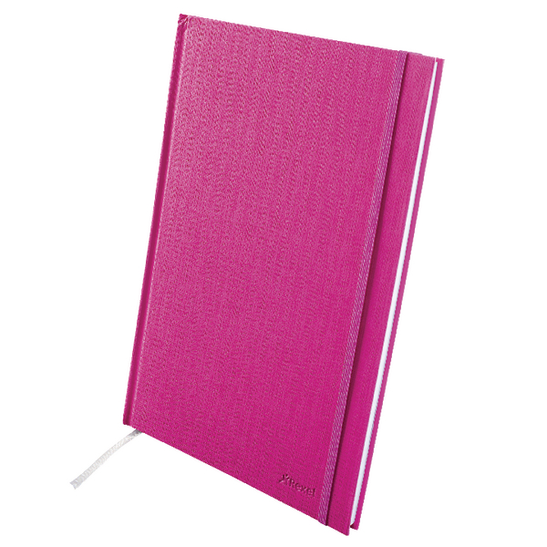 Rexel Joy Journal Notebook 192 Page A4 Pretty Pink 2103995