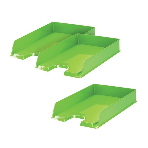 Rexel Choices Letter Tray Green Buy 2 Get 1 Free RX810213