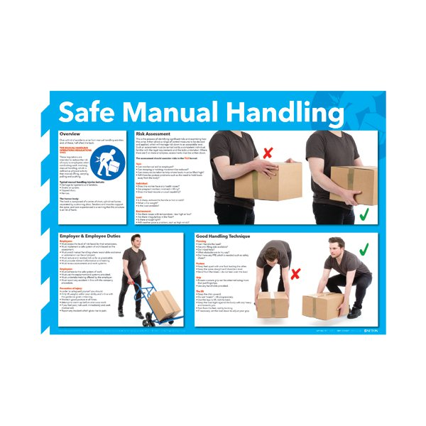 Lifting and carrying: office manual handling training video.