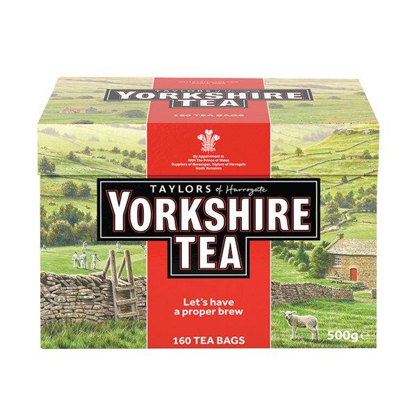 Yorkshire Tea 160 Tea Bags 500g 1029