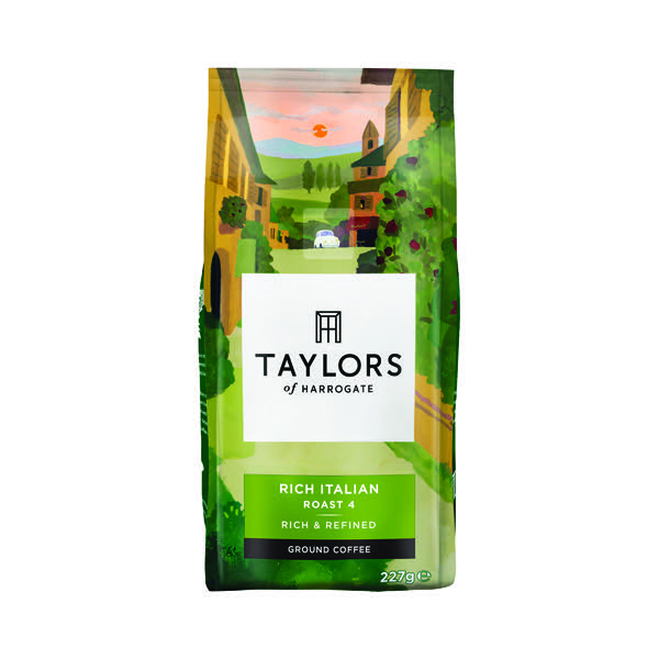 Taylors Rich Italian Ground Coffee 227g 3676
