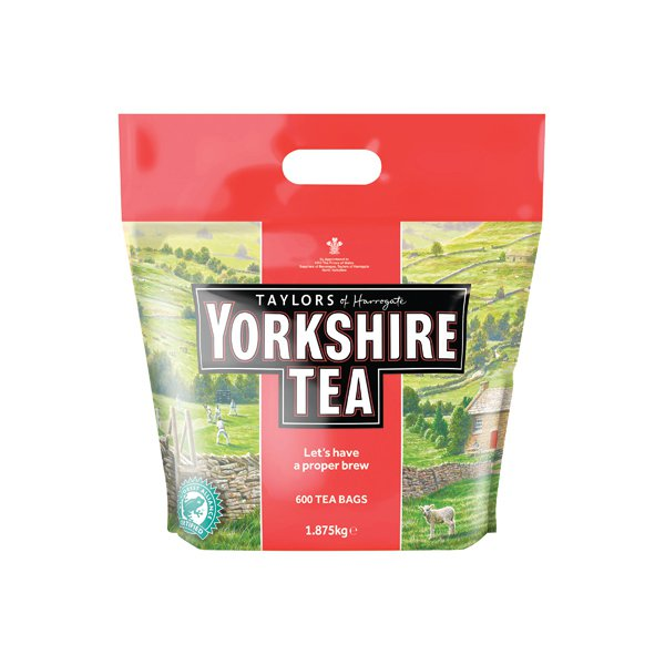 Yorkshire Tea Tea Bag (Pack of 600) 5006
