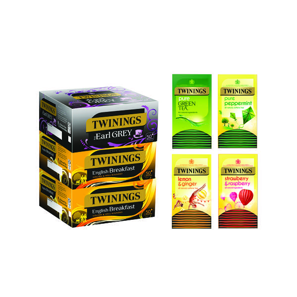 Twinings Favourites Variety Pack (Pack of 380) F14907
