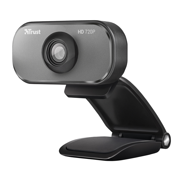 Trust Viveo 720P HD Black /Aluminium Webcam 20818
