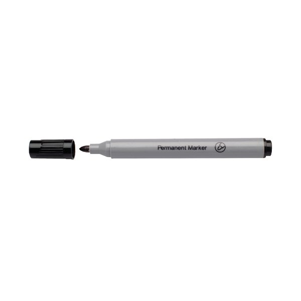 Black Permanent Bullet Tip Marker (Pack of 10) WX26045A