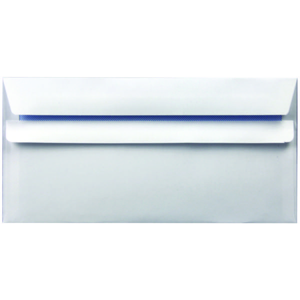 Envelope DL 90gsm Self Seal White WX3480 Pack of 1000