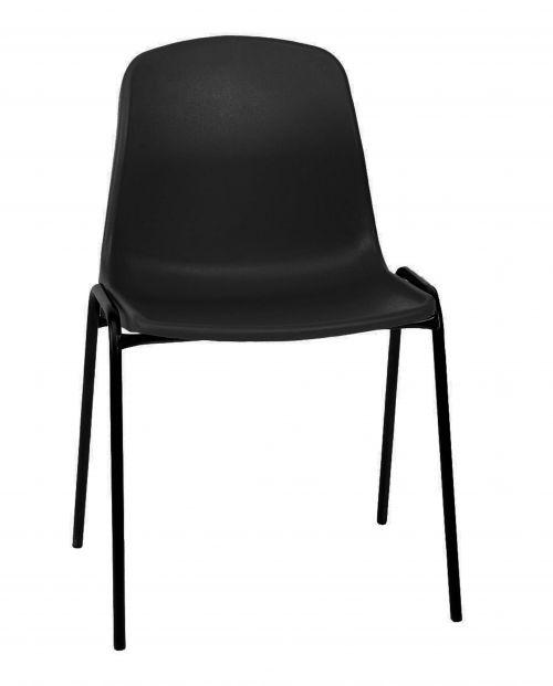 Stock Economy Poly Chairs - Black