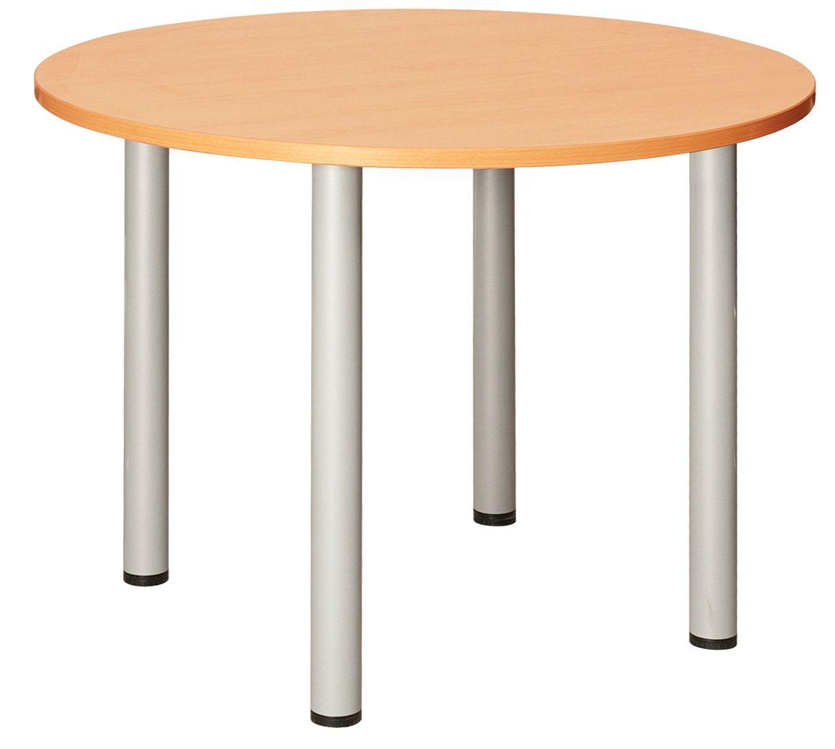 Fraction Plus Circular Meeting Table Beech 1200D
